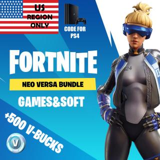 Code | US Neo Versa+500 VBucks