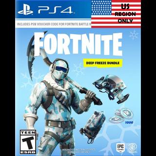 Code | US Deep Freeze PS4