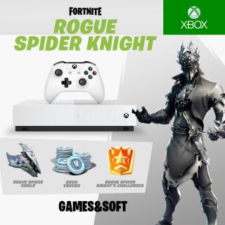 Fortnite Rogue Spider Knight Bundle + 2000 V-Bucks (Xbox One) GLOBAL