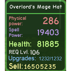 Other | DQ Overlord's Mage Set