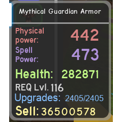 Other | Mythical Guardian Armor