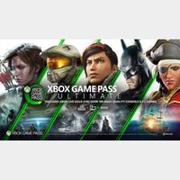 1-Month Xbox Game Pass Ultimate XBOX One / Windows 10 GLOBAL (28 Days)