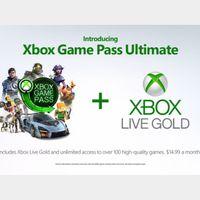50 x 7 weeks (50 weeks!) Xbox Game Pass Ultimate XBOX One / Windows 10 GLOBAL