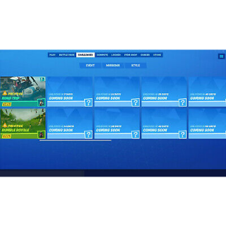 I will Be completing your fortnite battle pass challenges!