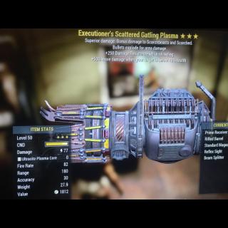 Weapon | Ee gatling plasma
