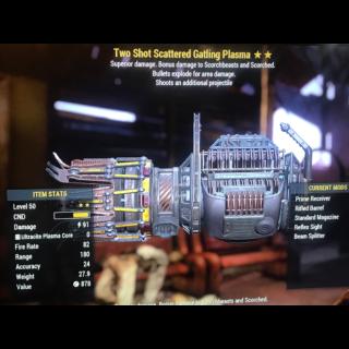 Weapon | TSE gat plasma