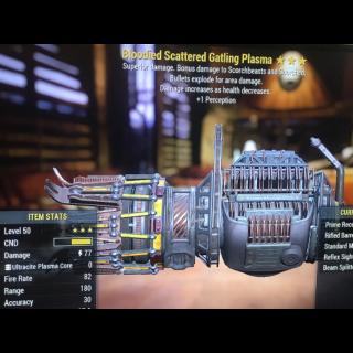 Weapon | Be gat plasma 1perc