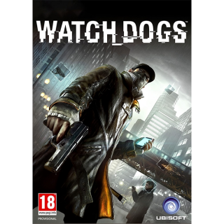🔑 Watch Dogs + 1 BONUS GIFT 🔑 [  ✈ INSTANT DELIVERY⚡️ | UPLAY | GLOBAL ]