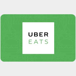 $50.00 Uber Eats-Auto and Instant Delivery