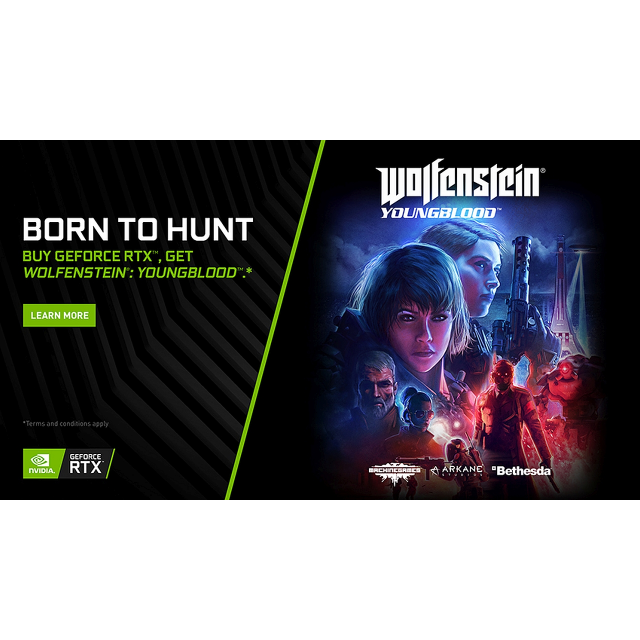 Wolfenstein Youngblood NVIDIA Promotion (Instant Delivery)