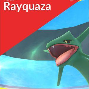 Bundle | Rayquaza raid x3