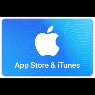 €200.00 Cartão-presente App Store & iTunes