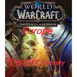 World of Warcraft: Battle For Azeroth EUROPE - INSTANT