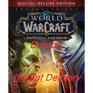 World of Warcraft: Battle For Azeroth Digital Deluxe Edition (EUROPE) - INSTANT