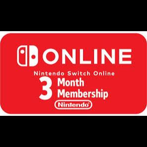 3 Month Nintedo Online - Nintendo Switch USA Region Locked