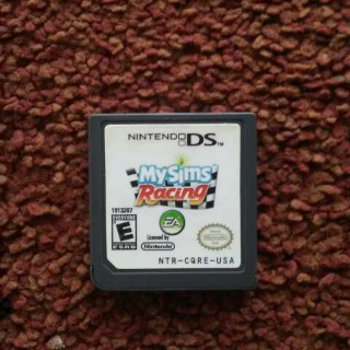 My Sims Racing Ds Game