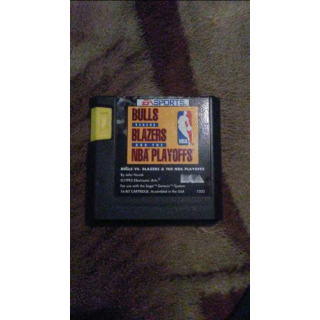 BULLS VS LAKERS AND THE NBA PLAYOFFS - SEGA GENESIS -