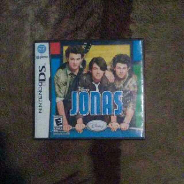 Nintendo DS Disney Jonas Brothers Game