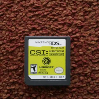 CSI Deadly Intent The Hidden Cases Ds Game