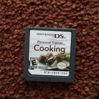 Personal Trainer Cooking Ds Game