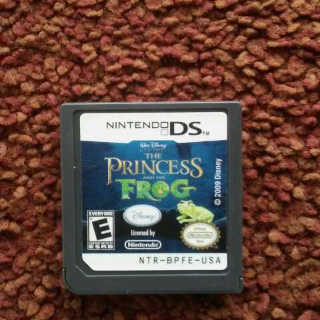 The Princess Frog Ds Game