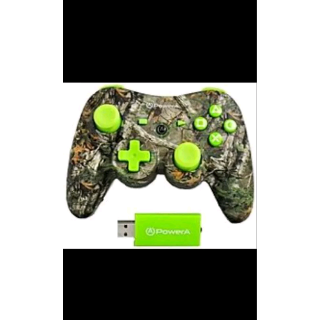 NEW PowerA Pro Realtree Wireless Controller (PS3) Green