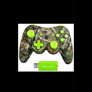 NEW PowerA Pro Realtree Wireless Controller (PS3) Green