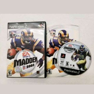 Madden 2003 Play Station 2 Game
