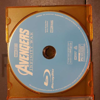 Avengers Infinity War (Blu-ray Disc Only)