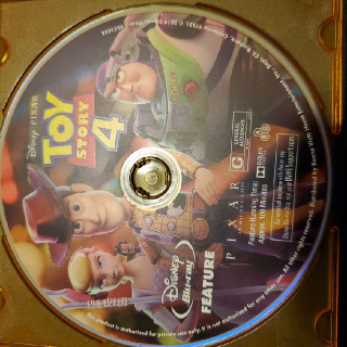 Toy Story 4 (Blu-ray Disc Only)