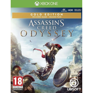 Assassin's Creed Odyssey Gold Edition Xbox ONE CODE!