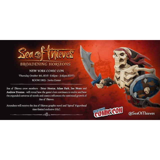 Sea Of Thieves - Spinal Figurehead DLC Code XBOX - Instant