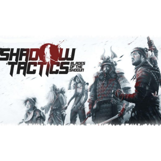 Shadow Tactics: Blades of the Shogun PC Steam Key  Instant Delivery !