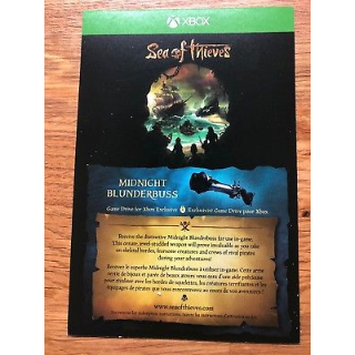 Sea Of Thieves Midnight Blunderbuss Exclusive DLC XBOX ONE INSTANT DELIVERY