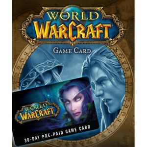 World of Warcraft 60 Days prepaid Code US / NA !