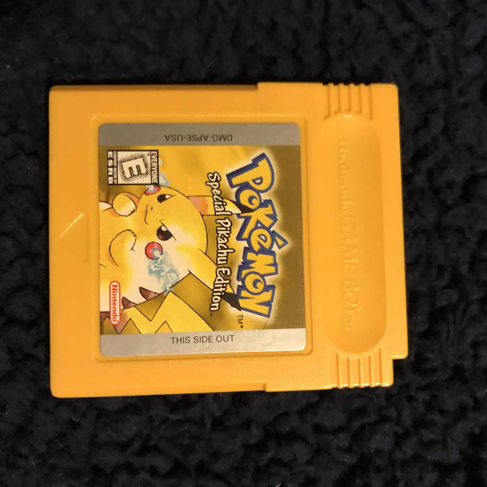 Pokemon Yellow Version - Game Boy Color Games (Like New