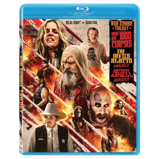 Rob Zombie Trilogy (House of 1000 Corpses, Devil's Rejects, 3 From Hell) Vudu, Fandango Now