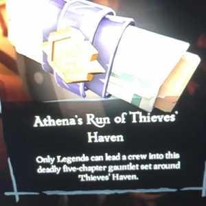 athenas run of thieves haven sea of thieves