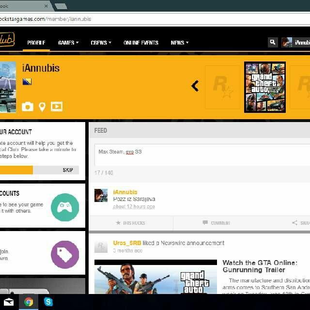 Grand Theft Auto V (GTA V) Social Club Account - Other Games