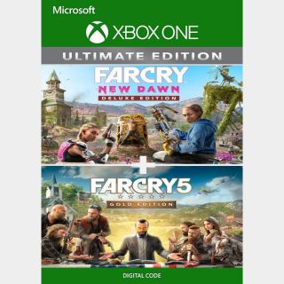Far Cry® 5 Gold Edition + Far Cry® New Dawn Deluxe Edition Bundle