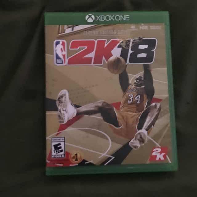 NBA 2k18 - XBox One Games (Like New) - Gameflip