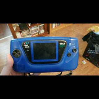 Blue Sega Game Gear Handheld