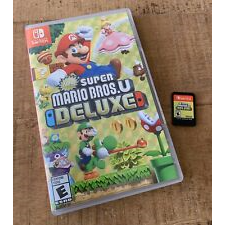 Super Mario Bros. U Deluxe (Nintendo Switch, 2019) Like New