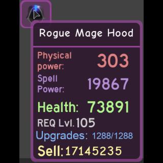 Gear | Rogue Mage Hood