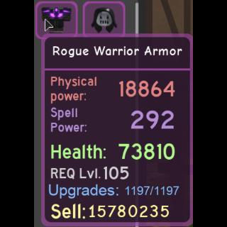 Gear | Rogue Warrior Armor