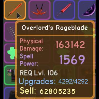 Gear | Overlord's Rageblade