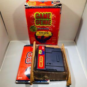 Super Nintendo snes game genie