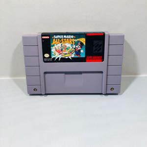 Super Mario all stars Super Nintendo snes