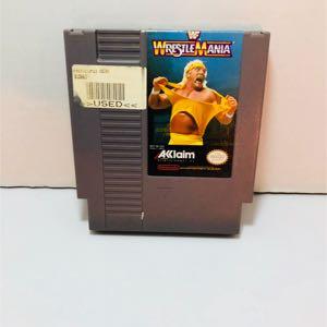 Wrestlemania wwf wwe Nintendo nes