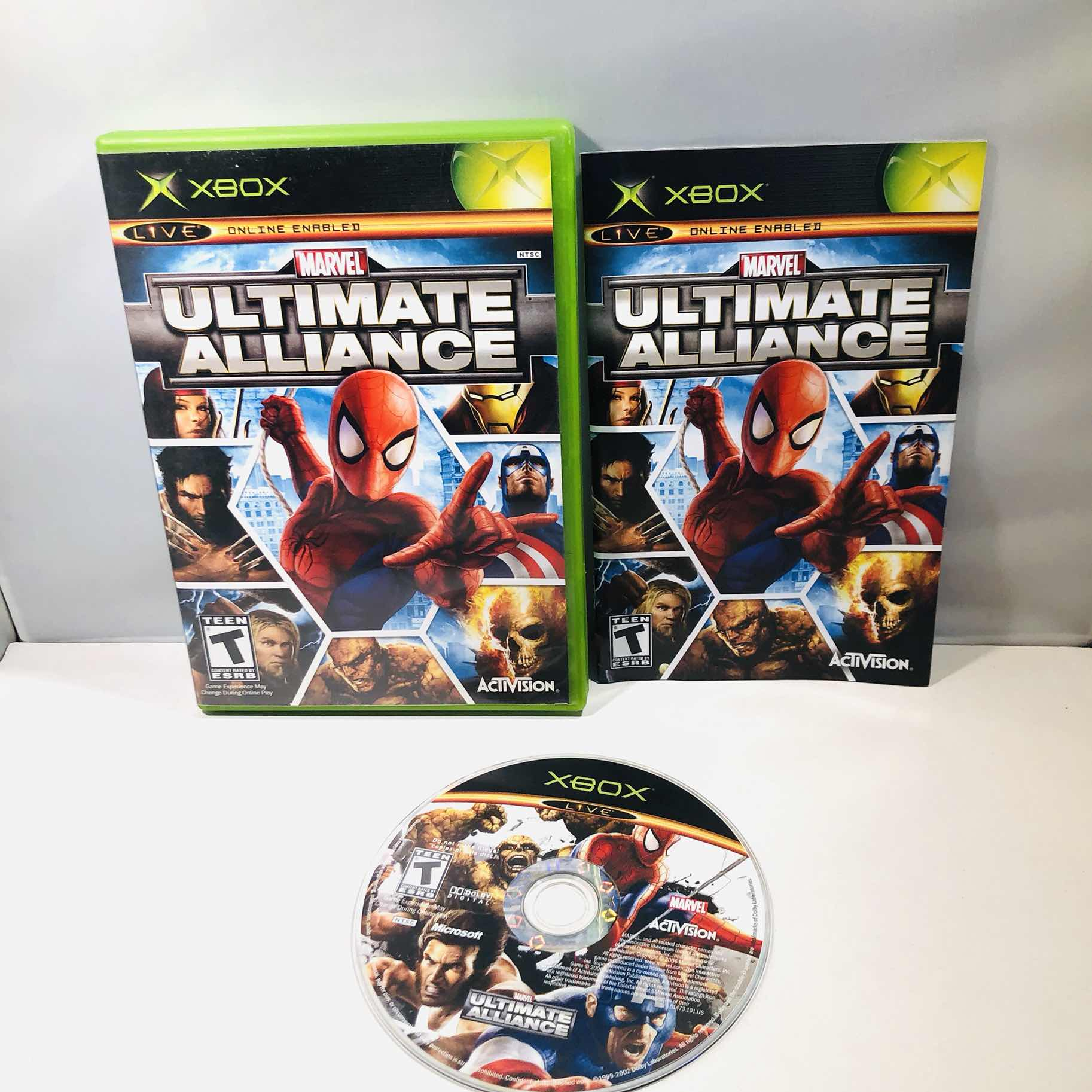 Marvel ultimate alliance Og Xbox